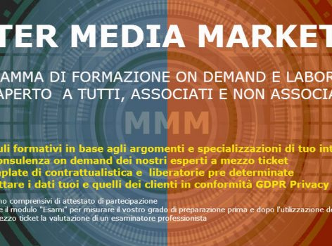 Formazione continua per i lavoratori del web, le aziende, i professionisti, la Privacy e il Permission Marketing